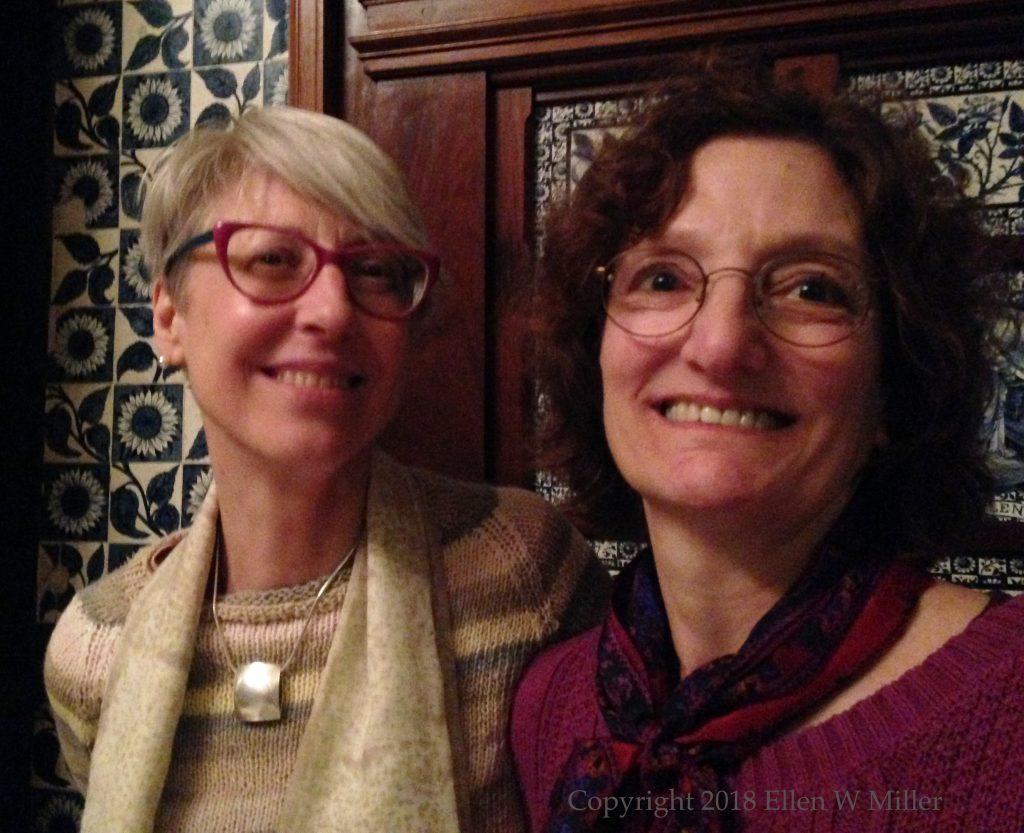 Kate & Ellen smiling