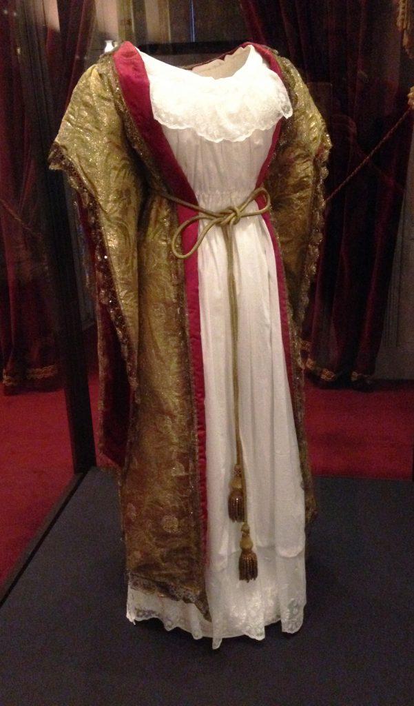 Queen Victoria's gown