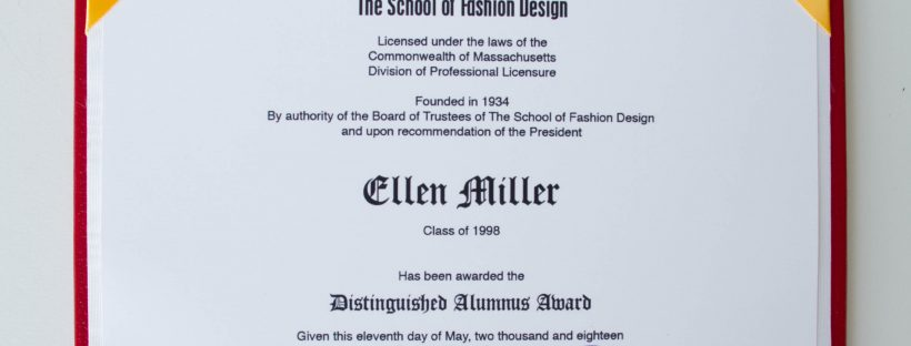 SFD Distinguished Alumna Award
