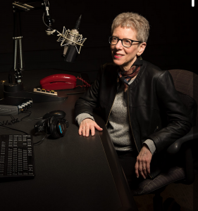 Terry Gross of Fresh Air!